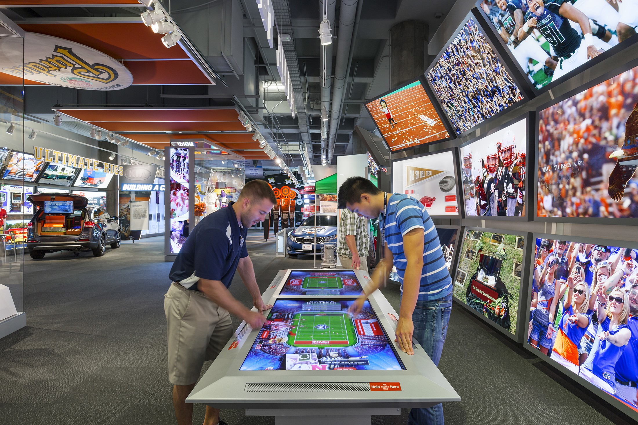 Football College College Hall  of Fame of Football - Hall